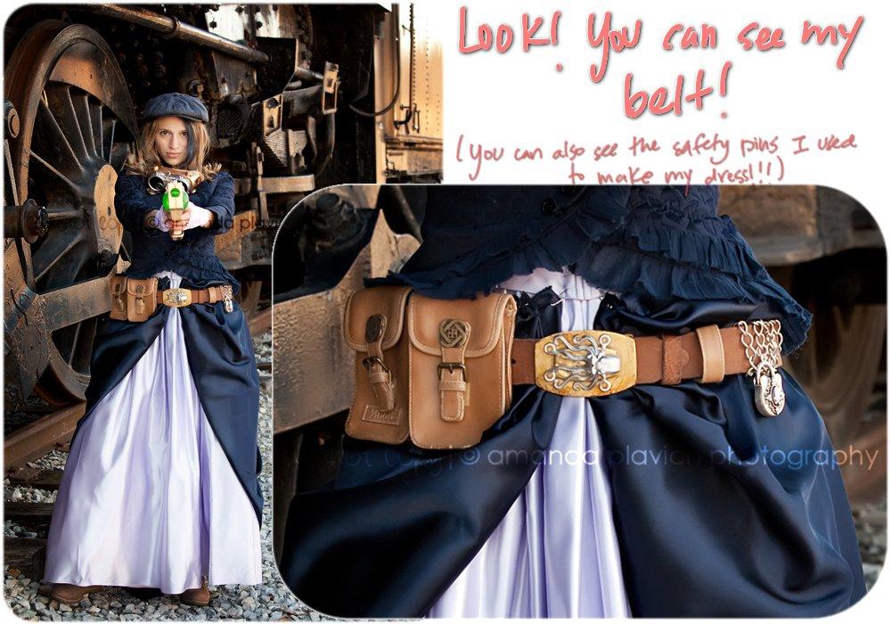 How to make a steampunk utility belt susan dennard steampunk solutioingenieria Gallery