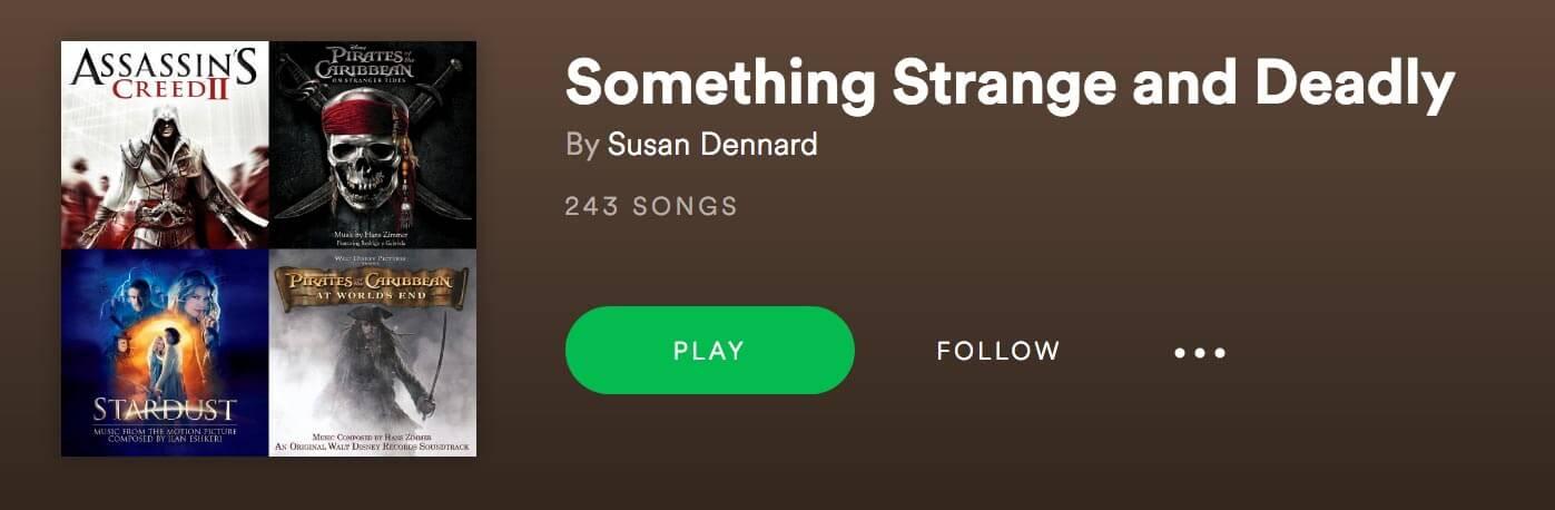 Extras Susan Dennard